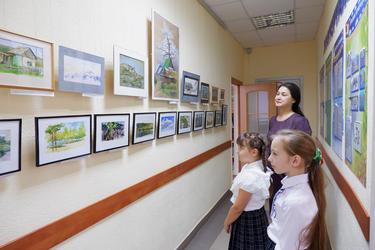 На пленэре у Динара Сайфутдинова
